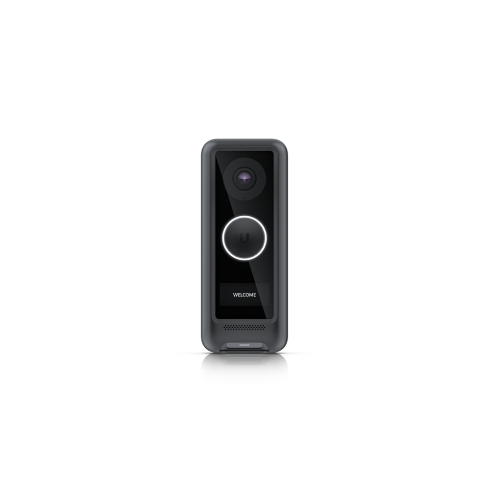 A large main feature product image of Ubiquiti UniFi Protect G4 Doorbell Cover Black
