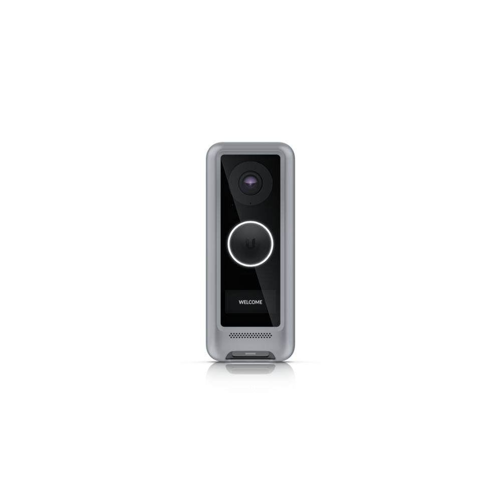 A large main feature product image of Ubiquiti UniFi Protect G4 Doorbell Cover Silver