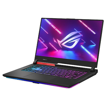 """Product image of ASUS ROG Strix G15 G513QC 15.6"""" Ryzen 9 RTX 3050 Windows 10 Gaming Notebook - Click for product page of ASUS ROG Strix G15 G513QC 15.6"""" Ryzen 9 RTX 3050 Windows 10 Gaming Notebook"""