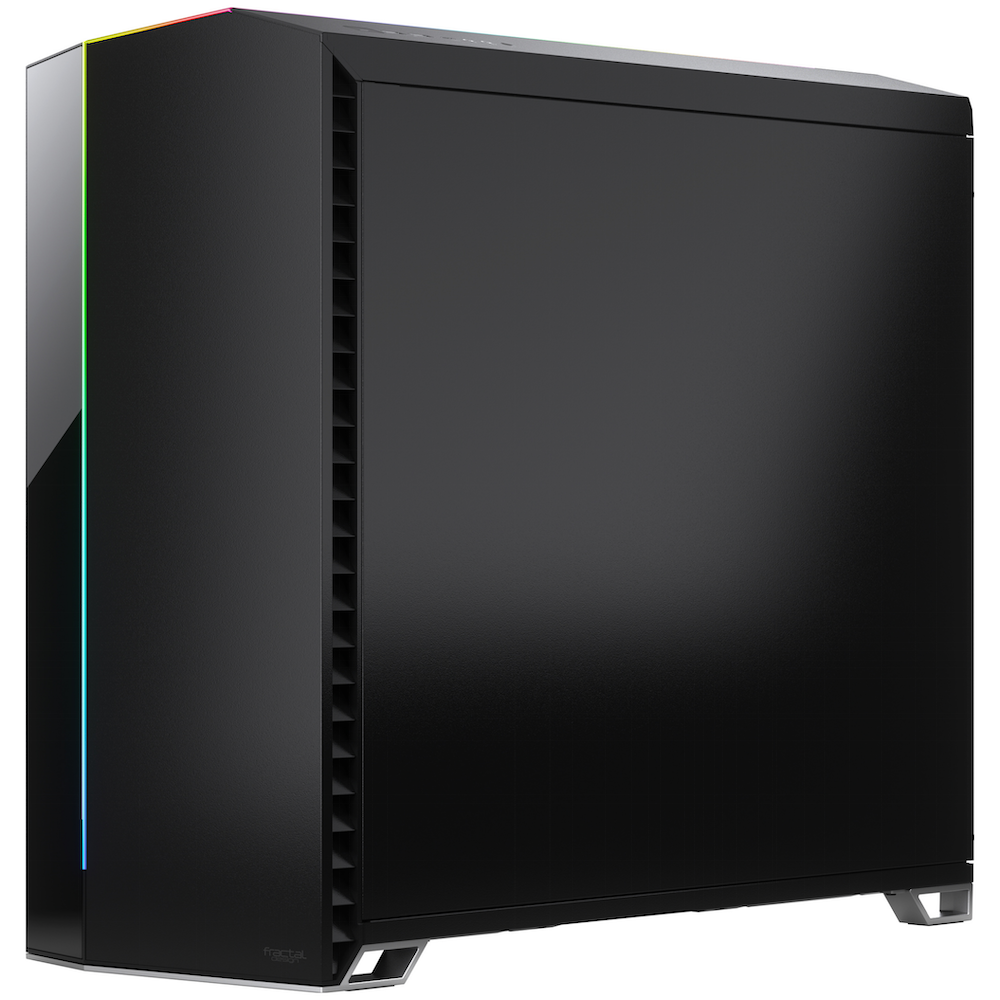 A large main feature product image of Fractal Design Vector RS Dark Tempered Glass Mid Tower Case Black