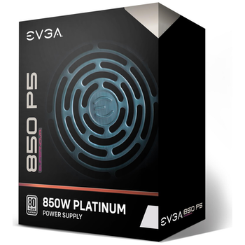 Product image of eVGA SuperNOVA P5 850W 80Plus Platinum Fully Modular Power Supply - Click for product page of eVGA SuperNOVA P5 850W 80Plus Platinum Fully Modular Power Supply
