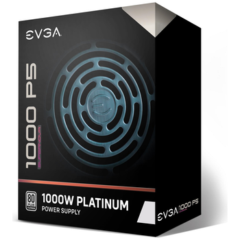 Product image of eVGA SuperNOVA P5 1000W 80Plus Platinum Fully Modular Power Supply - Click for product page of eVGA SuperNOVA P5 1000W 80Plus Platinum Fully Modular Power Supply