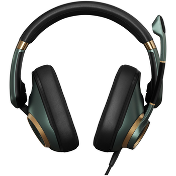 Product image of EPOS H6PRO Closed Acoustic Gaming Headset - Racing Green - Click for product page of EPOS H6PRO Closed Acoustic Gaming Headset - Racing Green