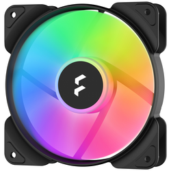Product image of Fractal Design Aspect 12 120mm RGB Fan Black 3-Pack - Click for product page of Fractal Design Aspect 12 120mm RGB Fan Black 3-Pack