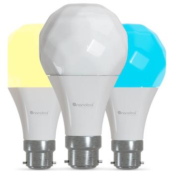 Product image of Nanoleaf Essentials Smart Bulb B22 - 3 Pack - Click for product page of Nanoleaf Essentials Smart Bulb B22 - 3 Pack