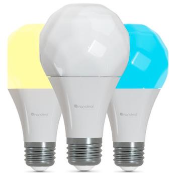 Product image of Nanoleaf Essentials Smart Bulb E27 - 3 Pack - Click for product page of Nanoleaf Essentials Smart Bulb E27 - 3 Pack