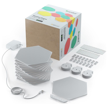 Product image of Nanoleaf Shapes Hexagons Starter Pack (15 Panels) - Click for product page of Nanoleaf Shapes Hexagons Starter Pack (15 Panels)