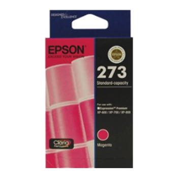 Product image of Epson Claria Premium 273 Magenta Cartridge - Click for product page of Epson Claria Premium 273 Magenta Cartridge