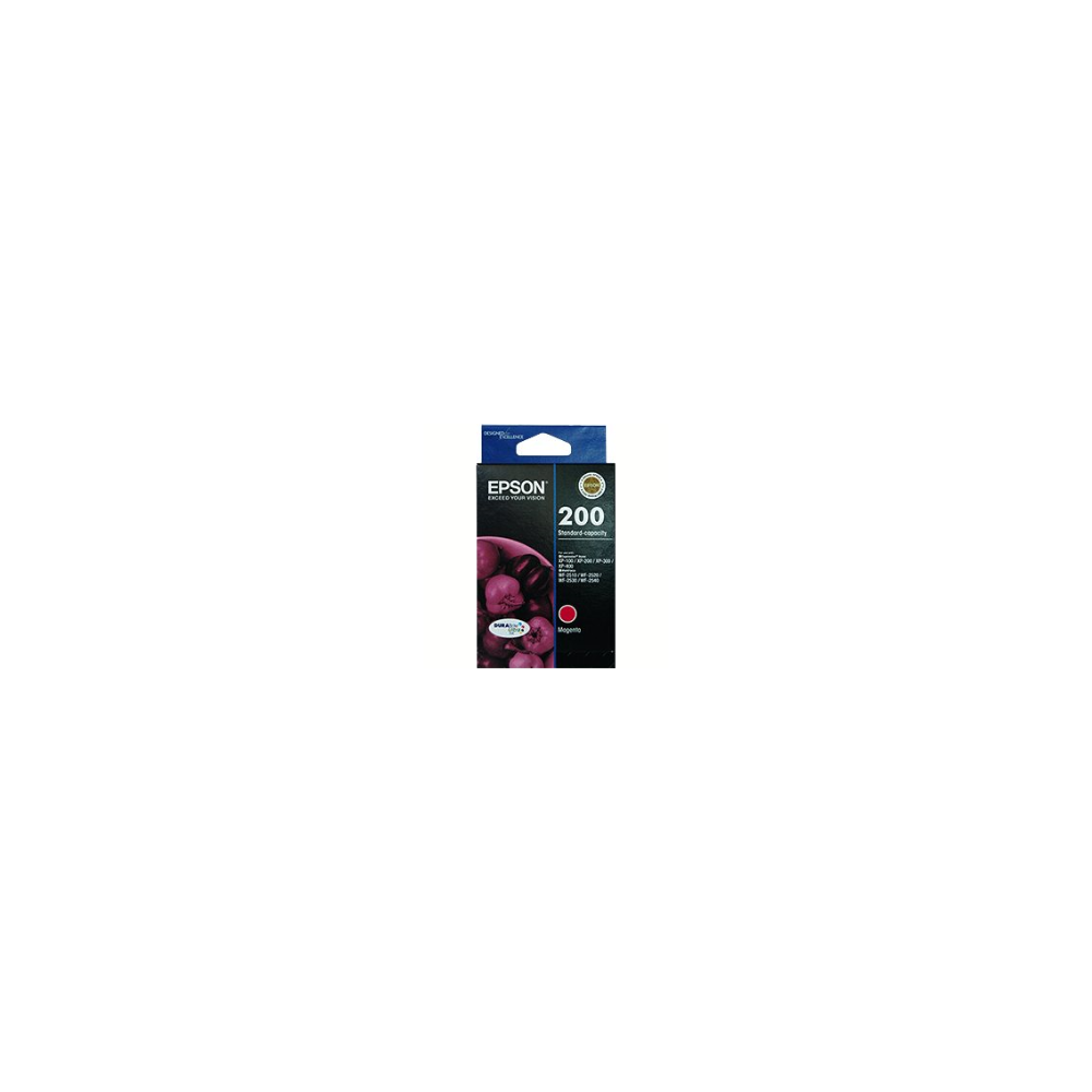 A large main feature product image of Epson DURABrite Ultra 200 Magenta Cartridge