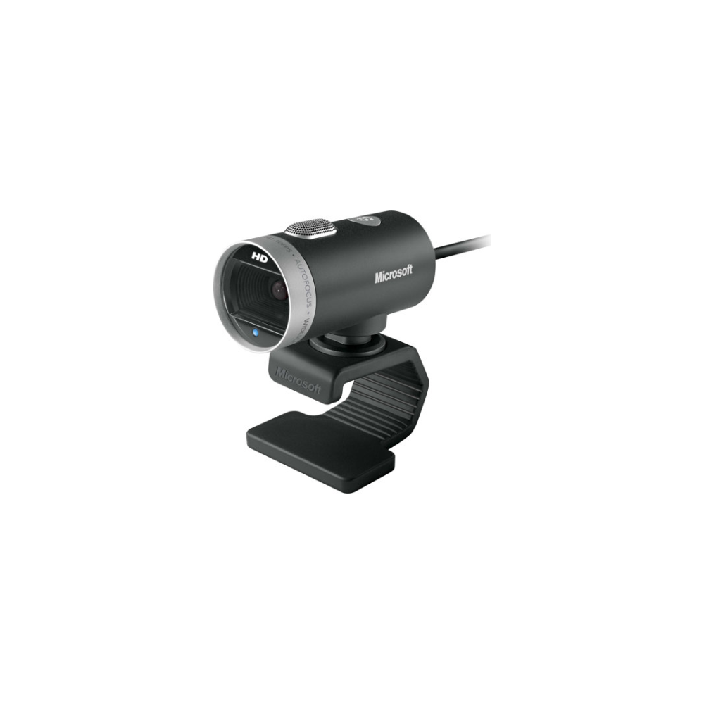 A large main feature product image of Microsoft LifeCam Cinema HD Webcam
