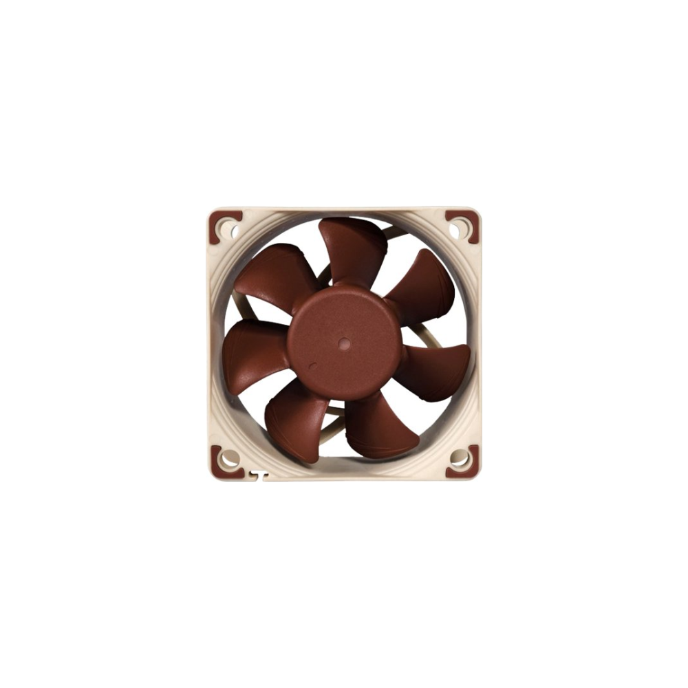 A large main feature product image of Noctua NF-A6x25 FLX 60mm 3000RPM Cooling Fan