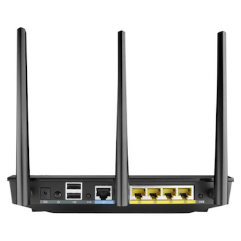 Product image of ASUS RT-AC66U 802.11ac Dual-Band Wireless-AC1700 Gigabit Router - Click for product page of ASUS RT-AC66U 802.11ac Dual-Band Wireless-AC1700 Gigabit Router