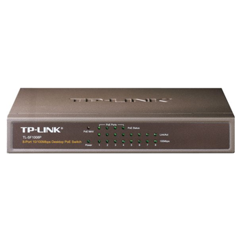 Product image of TP-LINK SF1008P 8-Port Fast Ethernet Inc 4xPOE Switch - Click for product page of TP-LINK SF1008P 8-Port Fast Ethernet Inc 4xPOE Switch