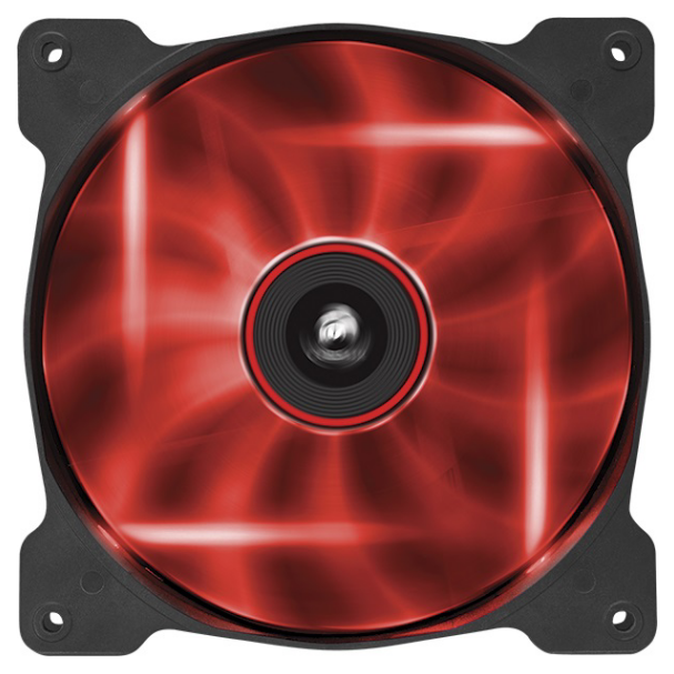 Corsair Af140 140mm Quiet Edition Red Led Cooling Fan Co