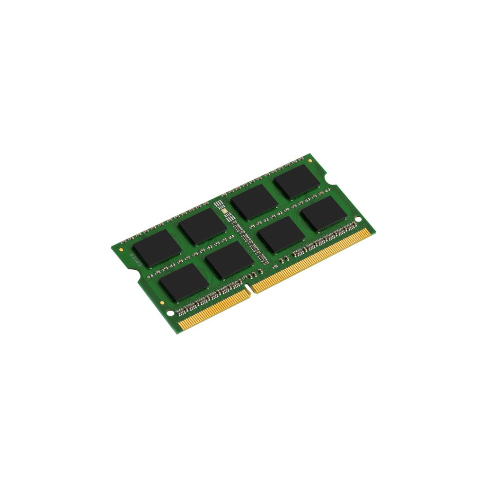 A large main feature product image of Kingston 8GB DDR3L ValueRAM SO-DIMM C11 1600MHz