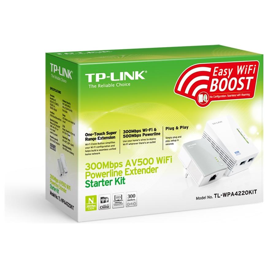 tp link av500 wifi powerline extender starter kit tl wpa4220kit ple computers online australia. Black Bedroom Furniture Sets. Home Design Ideas