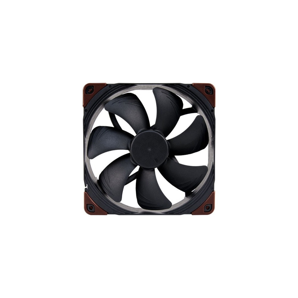 A large main feature product image of Noctua NF-F12 120mm 2000RPM PWM IndustrialPPC Cooling Fan