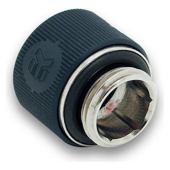 Product image of EK G1/4 12mm Elox Black HDC Fitting - Click for product page of EK G1/4 12mm Elox Black HDC Fitting