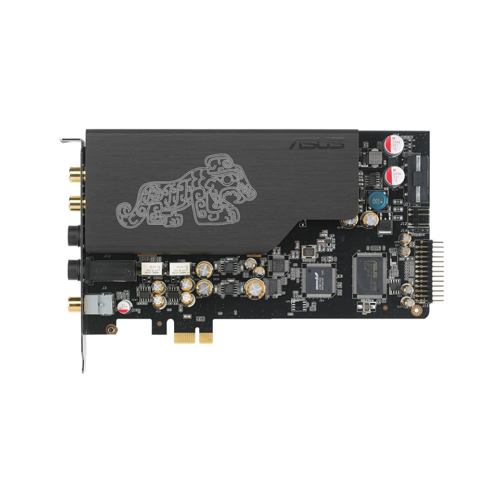 A large main feature product image of ASUS Xonar Essence STX II 7.1 PCIe Sound Card