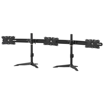 "Product image of Aavara AV-DS310 Freestanding Triple Monitor Stand (24 to 32"") - Click for product page of Aavara AV-DS310 Freestanding Triple Monitor Stand (24 to 32"")"