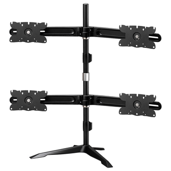 "Product image of Aavara AV-DS410 Freestanding Quad Monitor Stand (24 to 32"") - Click for product page of Aavara AV-DS410 Freestanding Quad Monitor Stand (24 to 32"")"