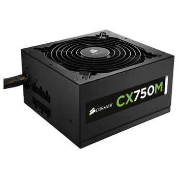 Product image of Corsair CX750M 750W 80PLUS Bronze Semi-Modular Power Supply - Click for product page of Corsair CX750M 750W 80PLUS Bronze Semi-Modular Power Supply