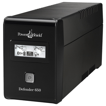 Product image of Power Shield Defender LCD 650VA UPS - Click for product page of Power Shield Defender LCD 650VA UPS