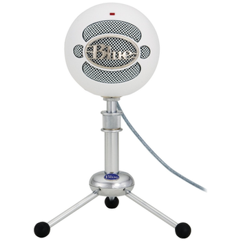 Product image of Blue Microphones Snowball White USB Microphone - Click for product page of Blue Microphones Snowball White USB Microphone