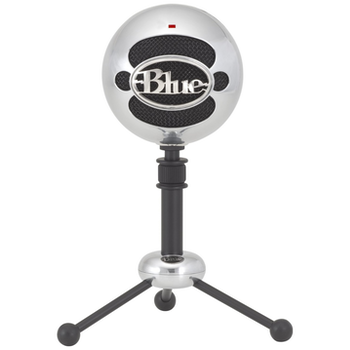 Product image of Blue Microphones Snowball Aluminium USB Microphone - Click for product page of Blue Microphones Snowball Aluminium USB Microphone