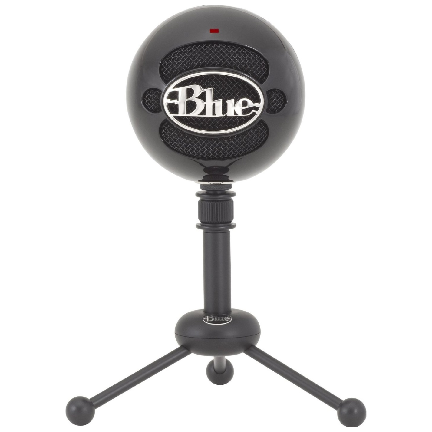 blue microphones snowball gloss black usb microphone 1912 ple computers online australia. Black Bedroom Furniture Sets. Home Design Ideas