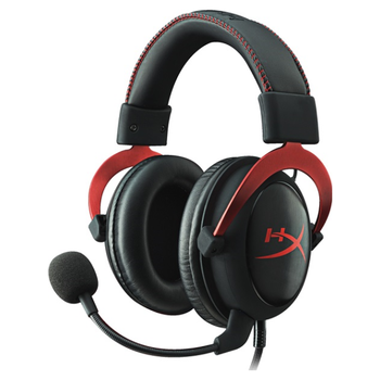 Product image of Kingston HyperX Cloud II Gaming Headset Red - Click for product page of Kingston HyperX Cloud II Gaming Headset Red