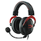 A small tile product image of Kingston HyperX Cloud II Gaming Headset Red
