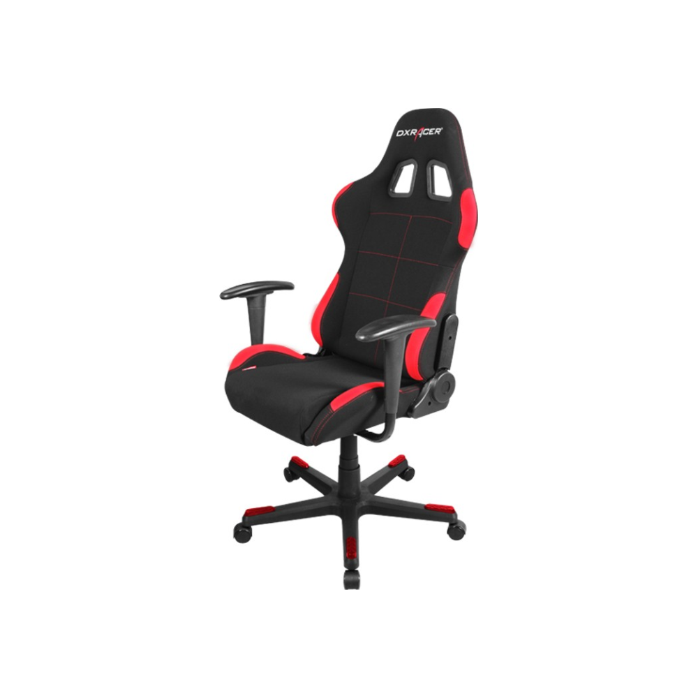 A large main feature product image of DXRacer F Series PC Gaming Chair - Black & Red
