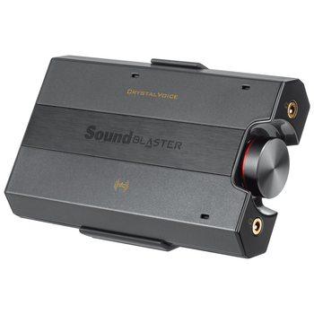 Product image of Creative Sound Blaster E5 High Resolution USB DAC and Portable Headphone Amp - Click for product page of Creative Sound Blaster E5 High Resolution USB DAC and Portable Headphone Amp