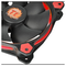 A small tile product image of Thermaltake Riing Single 120mm Red LED SP Fan