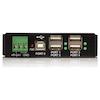 A product image of Startech Mountable 4 Port Rugged USB Hub