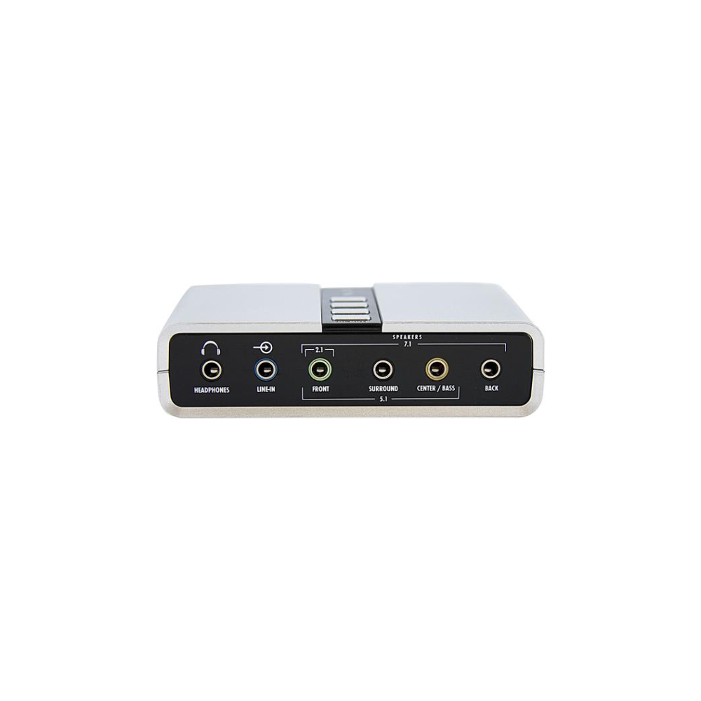 A large main feature product image of Startech USB Audio Adapter External Sound Card
