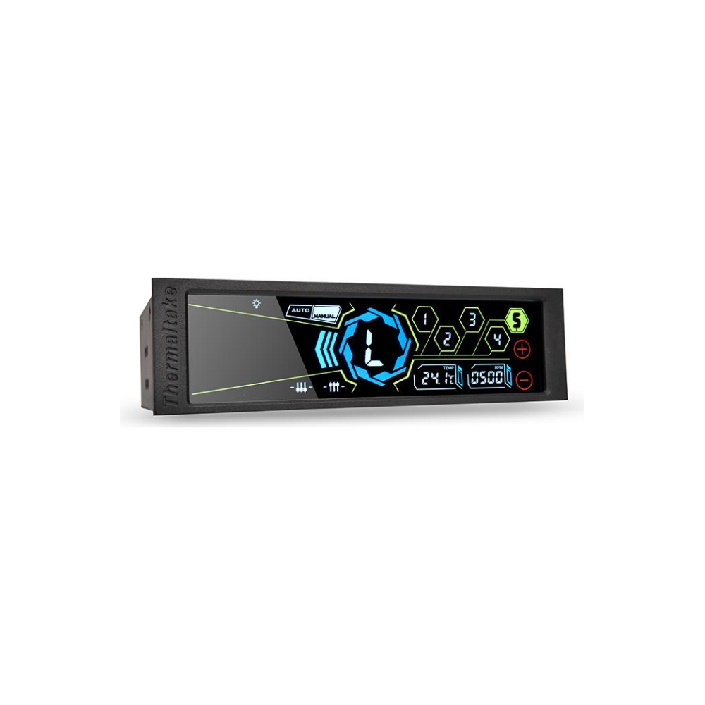 """A large main feature product image of Thermaltake Commander FT Touch Screen LCD 5.25"""" Fan Controller"""