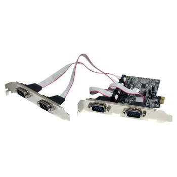 Product image of Startech 4 Port PCIe Serial Adapter Card - Click for product page of Startech 4 Port PCIe Serial Adapter Card