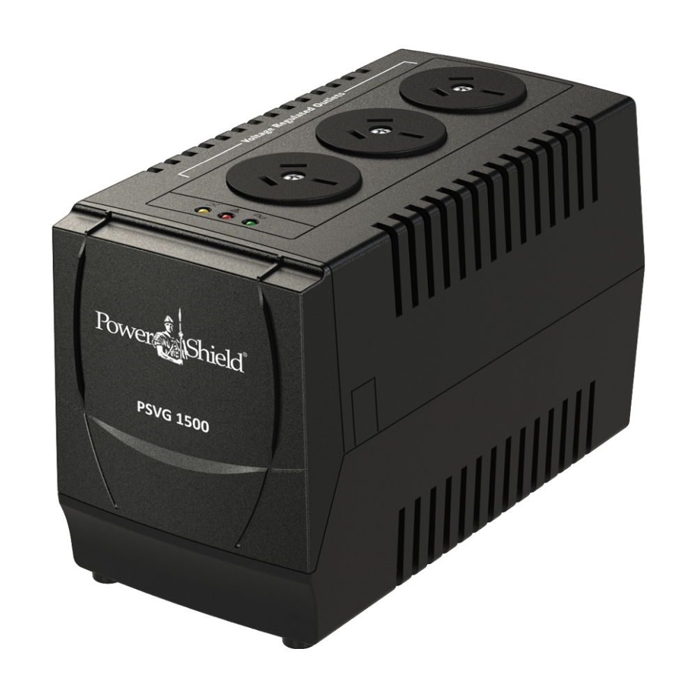 A large main feature product image of Power Shield VoltGuard 1500 Voltage Regulator