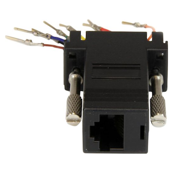 Product image of Startech DB9 to RJ45 Modular Adapter - Click for product page of Startech DB9 to RJ45 Modular Adapter