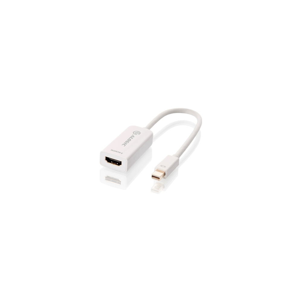 A large main feature product image of ALOGIC 15cm Mini DisplayPort to HDMI Adapter Male to Female