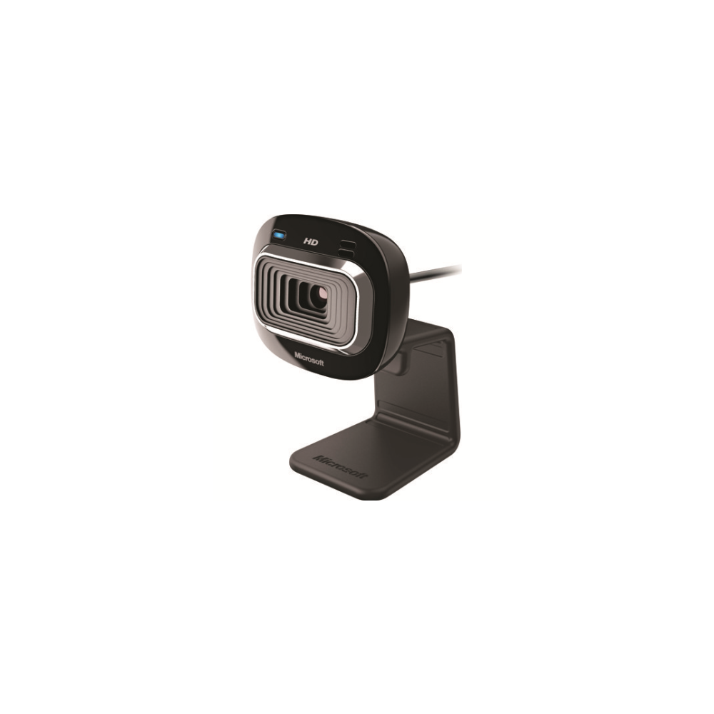 A large main feature product image of Microsoft LifeCam HD-3000 Webcam
