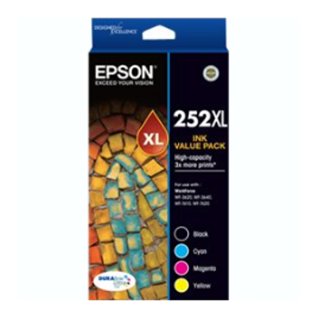 Product image of Epson DURABrite Ultra 252XL Value Pack - Click for product page of Epson DURABrite Ultra 252XL Value Pack