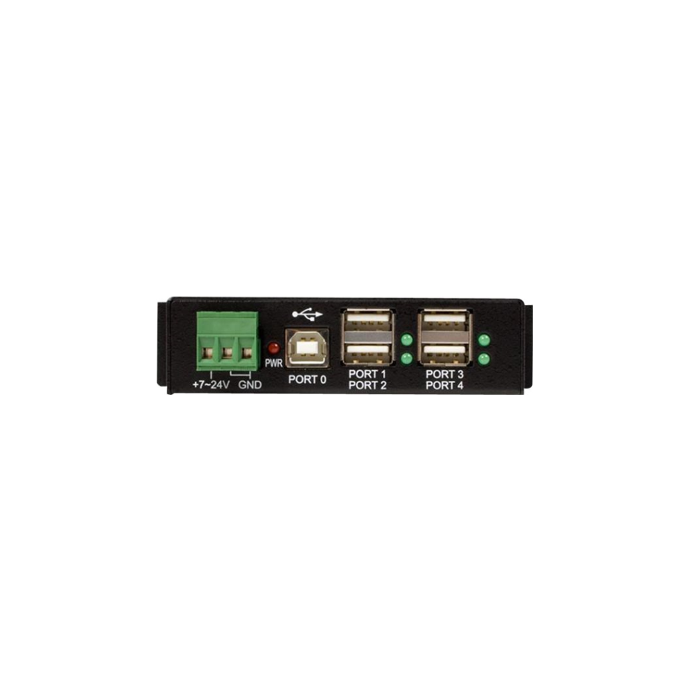 A large main feature product image of Startech Mountable 4 Port Rugged USB Hub