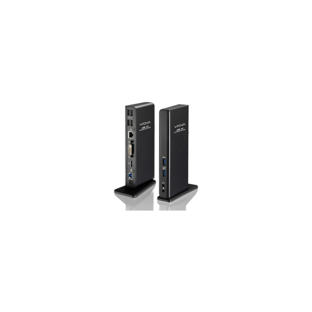 A large main feature product image of ALOGIC USB 3.0 Universal Docking Station