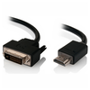 A product image of ALOGIC DVI-D to HDMI 1m Cable
