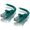 A product image of ALOGIC CAT6 0.5m Network Cable Green