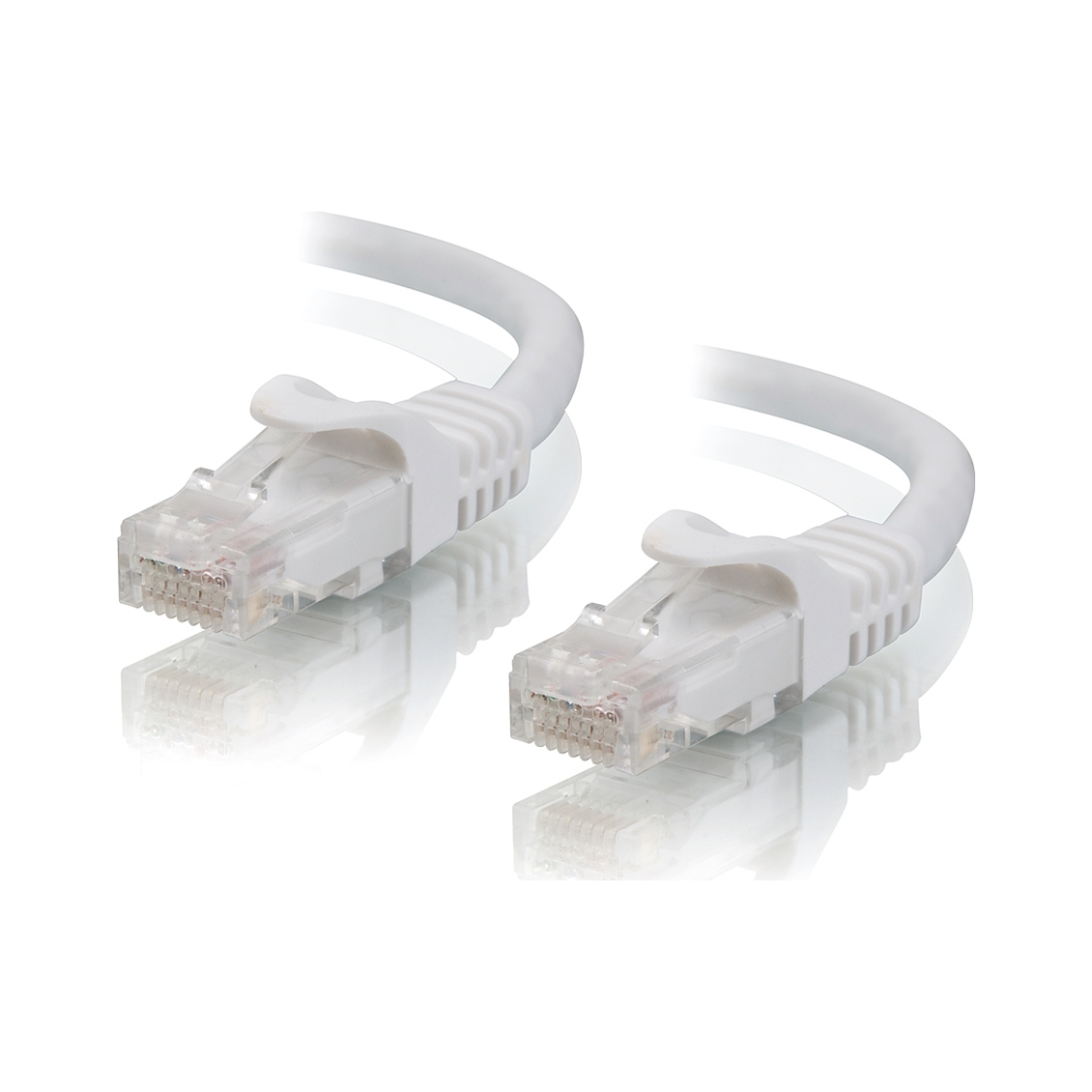 A large main feature product image of ALOGIC CAT6 1m Network Cable White