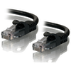 A product image of ALOGIC CAT6 1m Network Cable Black